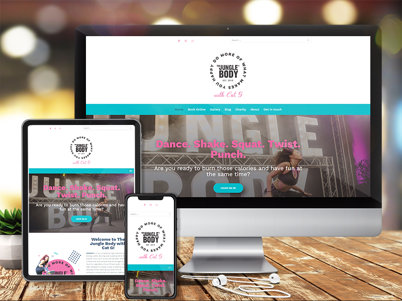 She Means Digital Services - Websites Mockup Example
