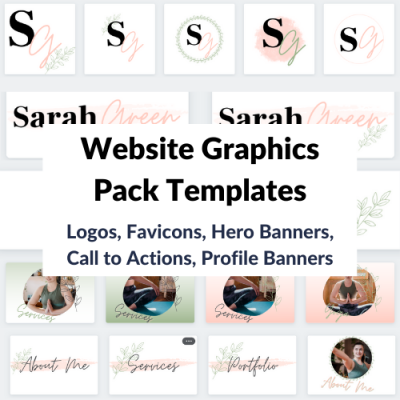 Website Graphics Pack Template