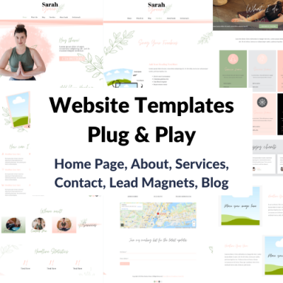 Website Template Plug and Play Banner